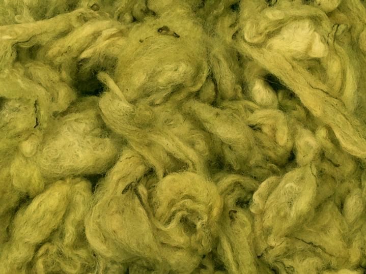 Groene wol